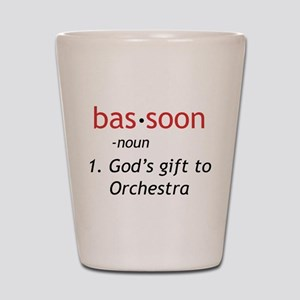 Bassoon Ninja Shot Glass