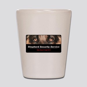 Shepherd Security Service Shot Glass