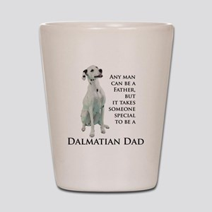 Dalmatian Dad Shot Glass