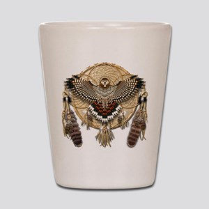Red-Tail Hawk Dreamcatcher Shot Glass