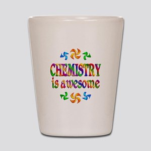 Chemistry is Awesome Shot Glass