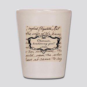 Elizabeth Bennett Shot Glass