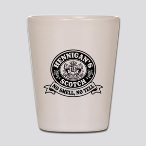 Hennigans Scotch Logo Shot Glass