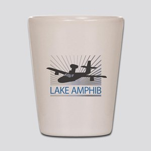 Aircraft Lake Amphibian Shot Glass