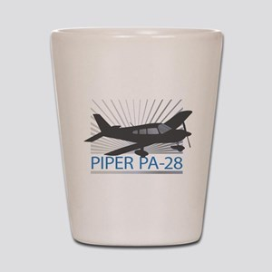 Aircraft Piper PA-28 Shot Glass