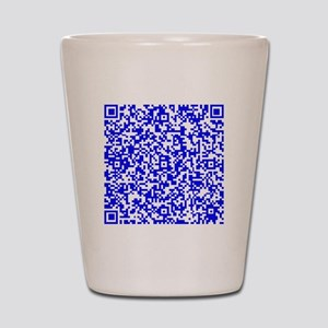 Personal Protection QR for your Stuff in Blue Shot