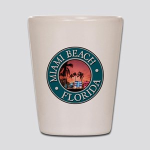 Miami Beach Shot Glass