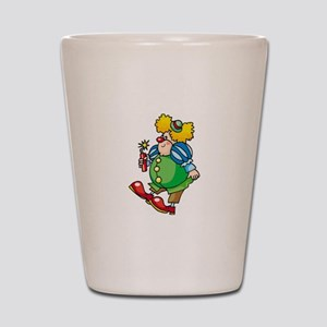 Clown Shot Glass