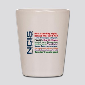 NCIS Quotes Shot Glass