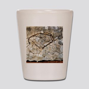 Egon Schiele Autumn Tree In The Wind Shot Glass