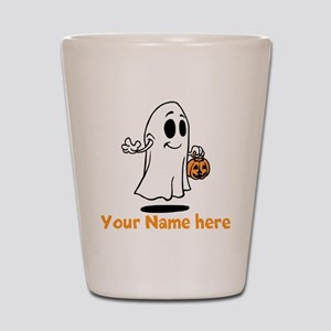 Personalized Halloween Shot Glass