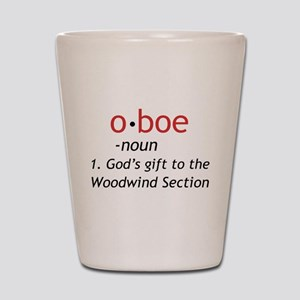 Oboe Definition Shot Glass