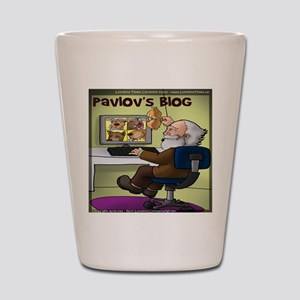 Pavlovs Blog Shot Glass