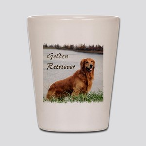 Golden Retriever Gifts Shot Glass