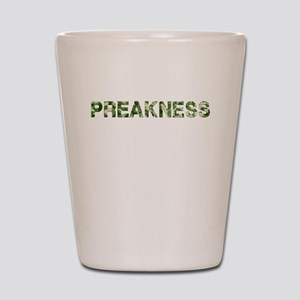 Preakness, Vintage Camo, Shot Glass