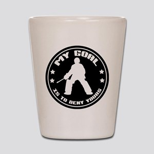 My Goal, Field Hockey Goalie Shot Glass