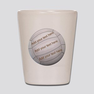 Beach Volleyball Shot Glass