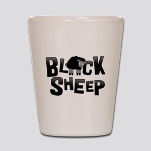 Black Sheep Dark Shot Glass