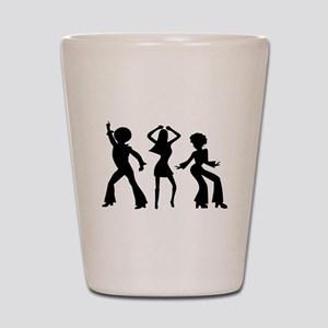 Disco Silhouettes Shot Glass