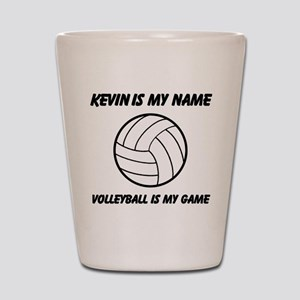 Volleyball Is My Game Shot Glass
