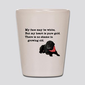 Old Black Lab Shot Glass