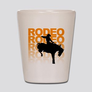 rodeo Shot Glass