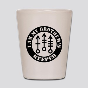 My Brothers keeper-V2 Shot Glass