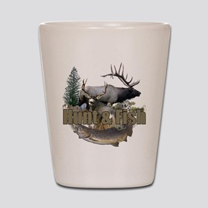 Hunt and Fish Shot Glass