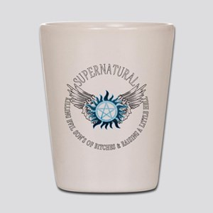 Supernatural protection Symbal Wings 03 Shot Glass
