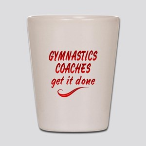 Gymnastics Coaches Shot Glass