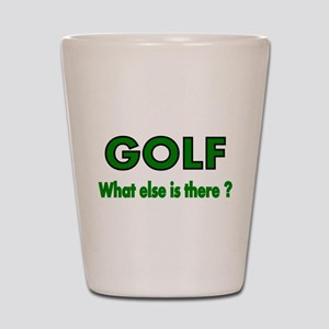 GOLF. What else is there? Shot Glass