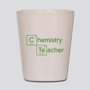 Chemistry Teacher Shot Glass