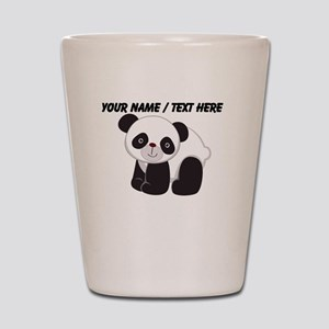 Custom Cute Panda Shot Glass