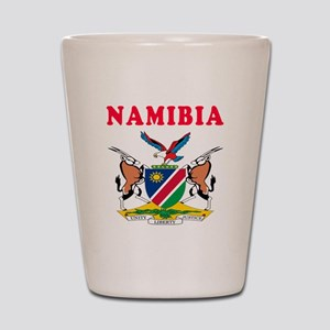 Namibia Coat Of Arms Designs Shot Glass