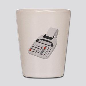 Adding Machine Calculator Shot Glass