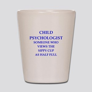 child psychologist Shot Glass
