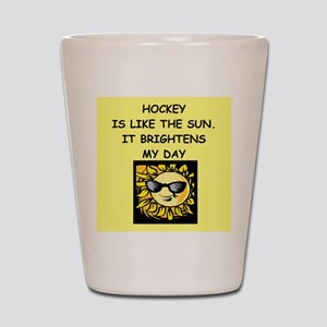 hockey Shot Glass
