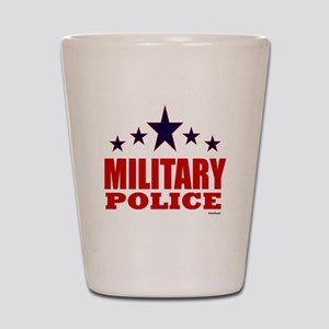 Military Police Shot Glass