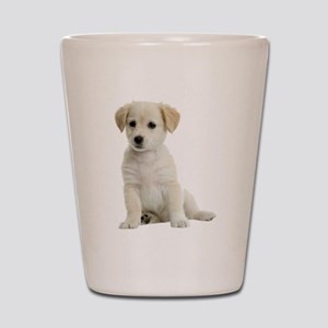 Labrador Puppy Shot Glass