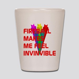 Fireball Invincible Shot Glass