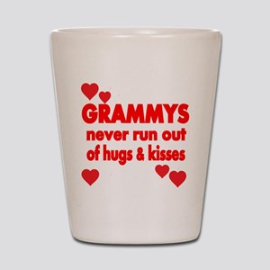 GRAMMYS NEVER RUN OUT OF HUGS KISSES Shot Glass