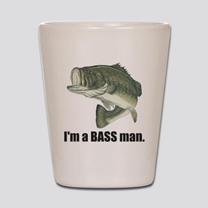 bass man Shot Glass