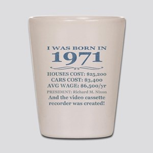Birthday Facts-1971 Shot Glass