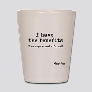 Benefits Shot Glass