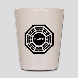 Dharma Initiaive Logo Shot Glass