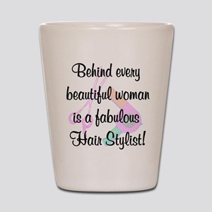 SIZZLING STYLIST Shot Glass