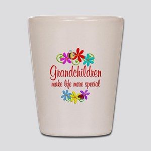 Special Grandchildren Shot Glass