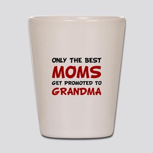 Promoted Grandma Shot Glass