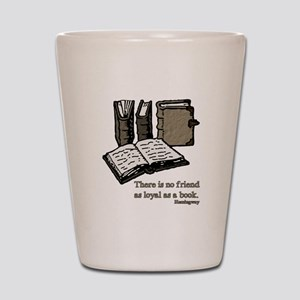 Books-3-Hemingway Shot Glass