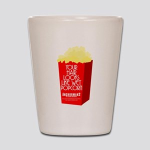 Wet Popcorn Shot Glass